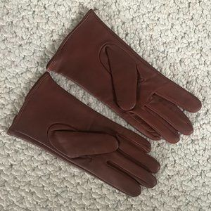 NWOT Merona Leather Gloves S/M